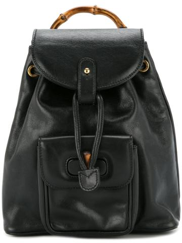 Gucci Vintage Classic Backpack - Black