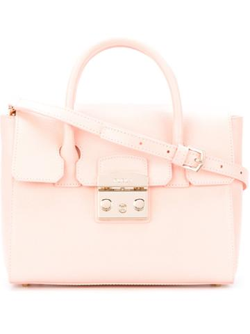Furla - Metropolis Handbag - Women - Leather - One Size, Pink/purple, Leather