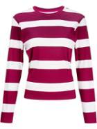 House Of Holland Horizontal Print Sweater