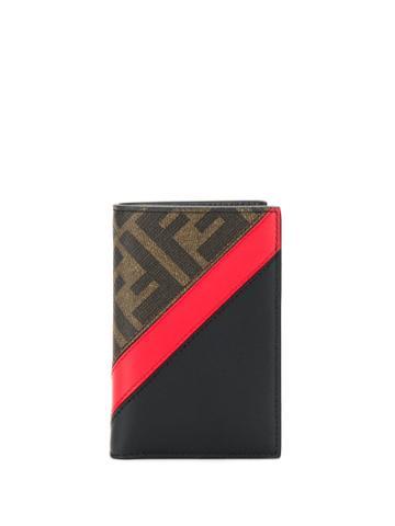 Fendi Ff Vertical Cardholder - Brown