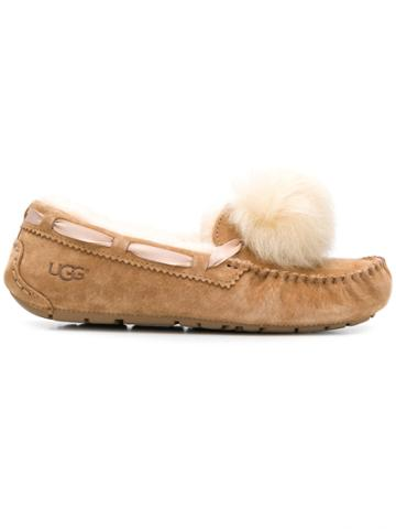 Ugg Australia Moccasin Slippers - Brown