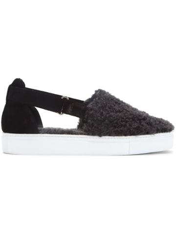 Amb 'poodle' Cut Out Sneakers