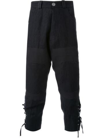 Aganovich Tapered Cropped Trousers