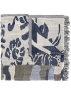 Dondup Floral Print Scarf