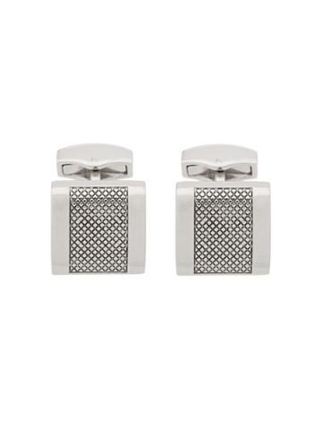 Tateossian Engraved Cufflinks - Silver