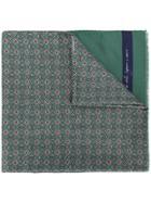 Fefè Paisley Print Scarf - Green