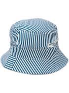 Stone Island Striped Sun Hat - Blue