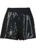 Moschino Sequined Shorts