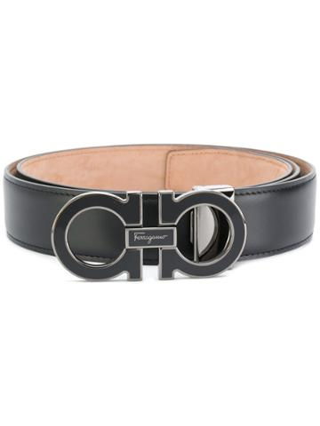 Salvatore Ferragamo Gancio Belt - Black