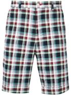 Loveless - Checked Shorts - Men - Cotton/polyurethane - 3, Cotton/polyurethane