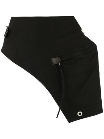 Rick Owens Cargo Belt Bag - Black