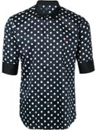 Loveless Polka Dot Shirt - Black