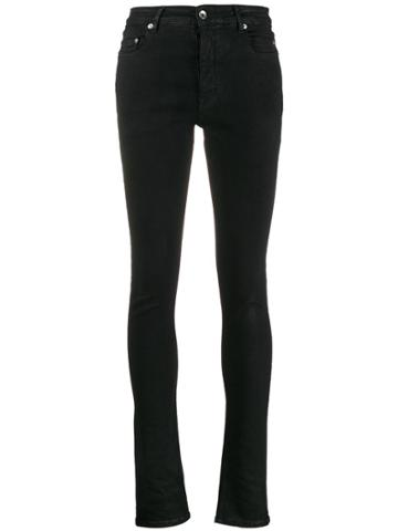 Rick Owens Drkshdw High Rise Skinny Jeans - Black