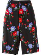 No21 Floral Print Shorts