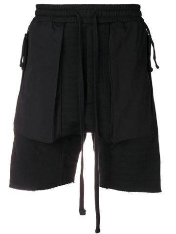 Thom Krom Drawstring Track Trousers - Black