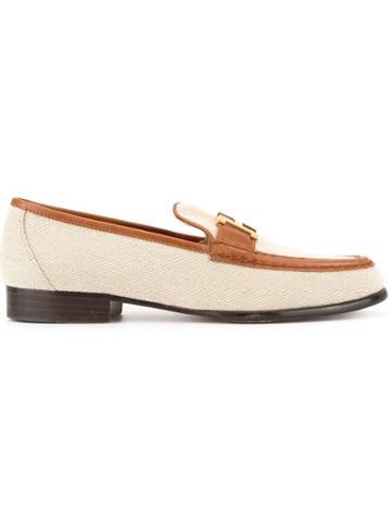 Hermès Vintage Constance H Logos Shoes Loafers - Neutrals