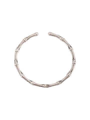 John Hardy Bamboo Cuff - Silver