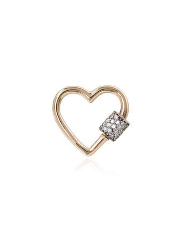 Marla Aaron 14kt Gold Heart Charm