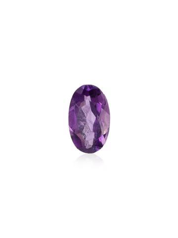 Loquet February Amethyst Birthstone Charm - Purple