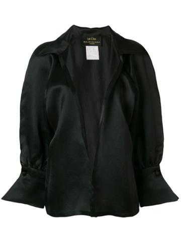 Balenciaga Pre-owned Loose Belted Shirt - Black