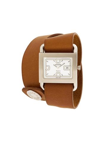 Hermès Vintage Wrap Around Watch, Women's, Brown