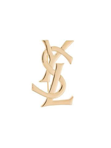 Yves Saint Laurent Vintage Ysl Brooch - Metallic