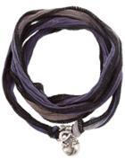 Catherine Michiels Fabric Necklace - Metallic