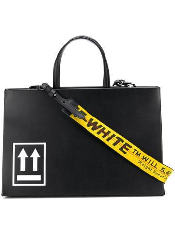 Off-white Large Box Tote Bag - Black
