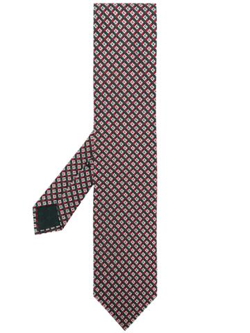 Gucci 3-d G Silk Tie - Green