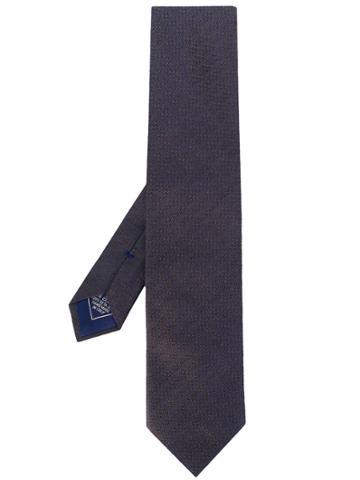 Brioni Multi-tone Tie - Blue