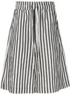 Damir Doma Striped Shorts - White