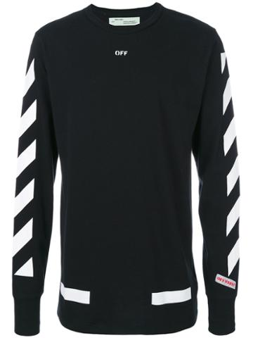 Off-white - Off Sweatshirt - Men - Cotton - Xs, Black, Cotton