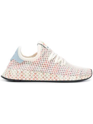 Adidas Adidas Originals Deerupt Pride Sneakers - White