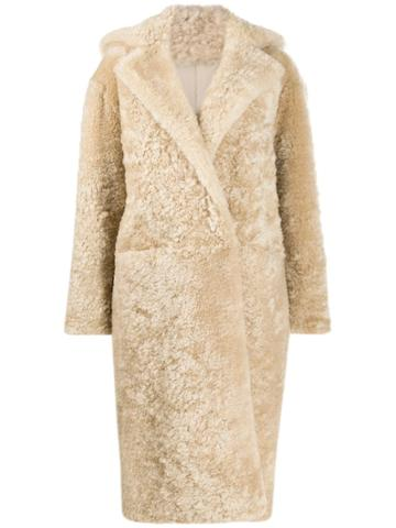 Boon The Shop Oversized Long Coat - Neutrals