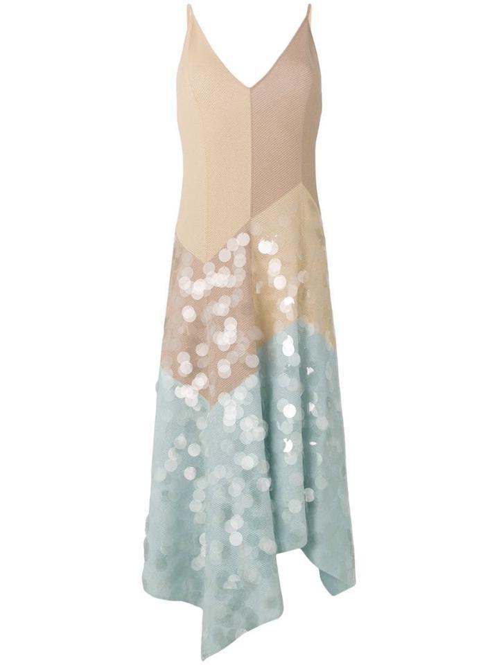 Bottega Veneta Multicolour Cotton Dress - Pink
