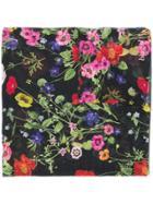 Blugirl Floral Scarf - Black