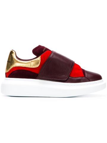 Alexander Mcqueen High Platform Sneakers - Red