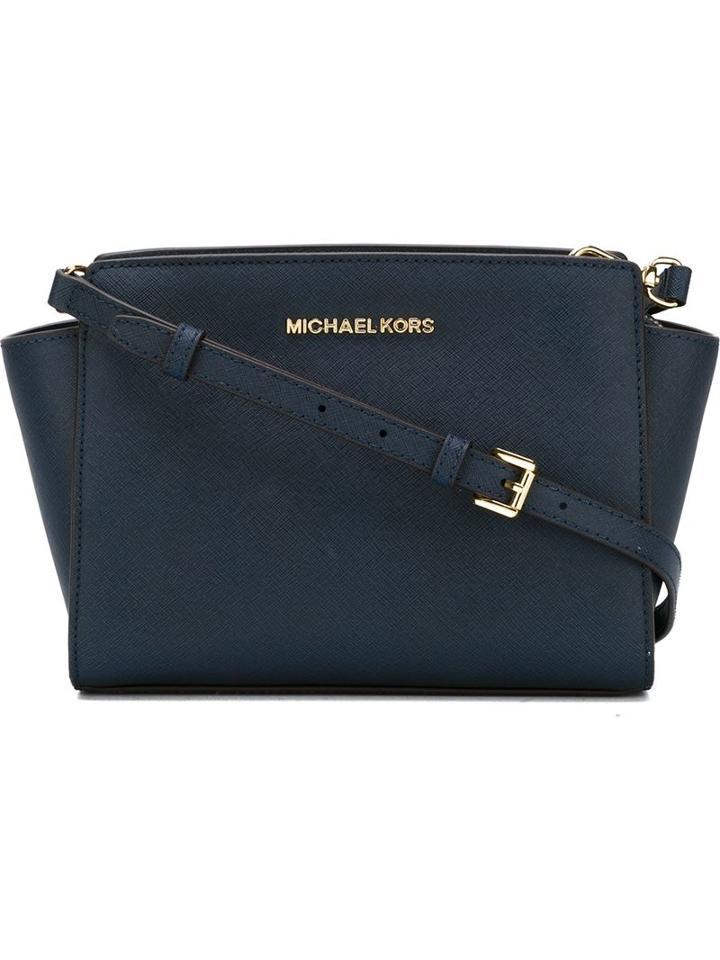 Michael Michael Kors Medium 'selma' Crossbody Bag, Women's, Blue