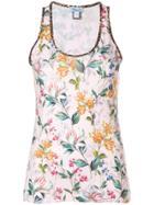Blumarine Sleeveless Floral Top - Multicolour