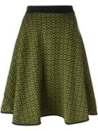 P.a.r.o.s.h. Patterned Knit Skirt