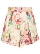 Zimmermann Floral Print Shorts - Multicolour