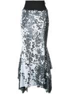 Maticevski Starry Night Skirt - Black