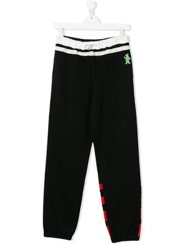 Marni Kids Rabbit Track Pants - Black