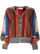 Toga Striped Cardigan - Multicolour