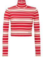 Prada Striped Sweater - Red