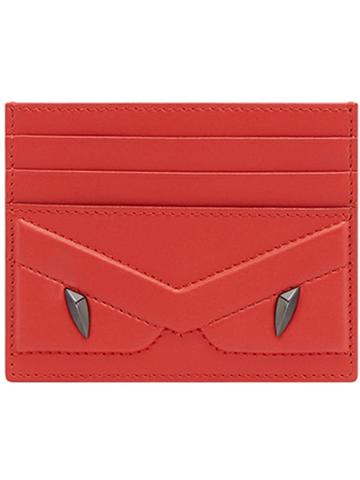 Fendi Businnes Card Holder - Red