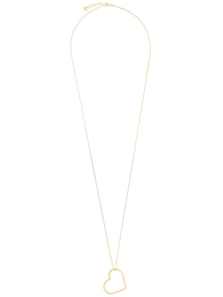 Seeme Long Venetian Chain Necklace, Women's, Metallic