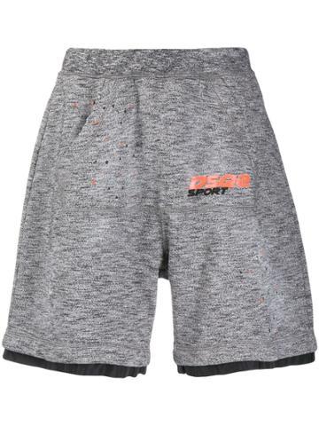 Dsquared2 Classic Track Shorts - Grey