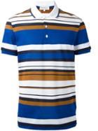 Salvatore Ferragamo Striped Polo Shirt, Men's, Size: Xl, Cotton