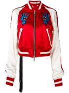 Unravel Project Embroidered Bomber Jacket
